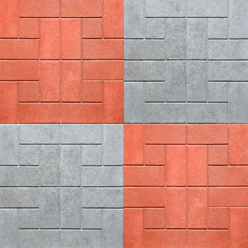 Chequered Parking Tiles