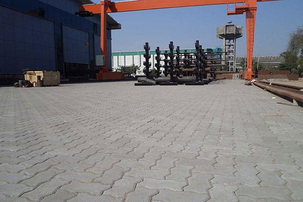 Industrial Flooring Paver Block